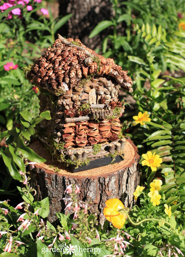 How To Make A Foraged Fairy House
