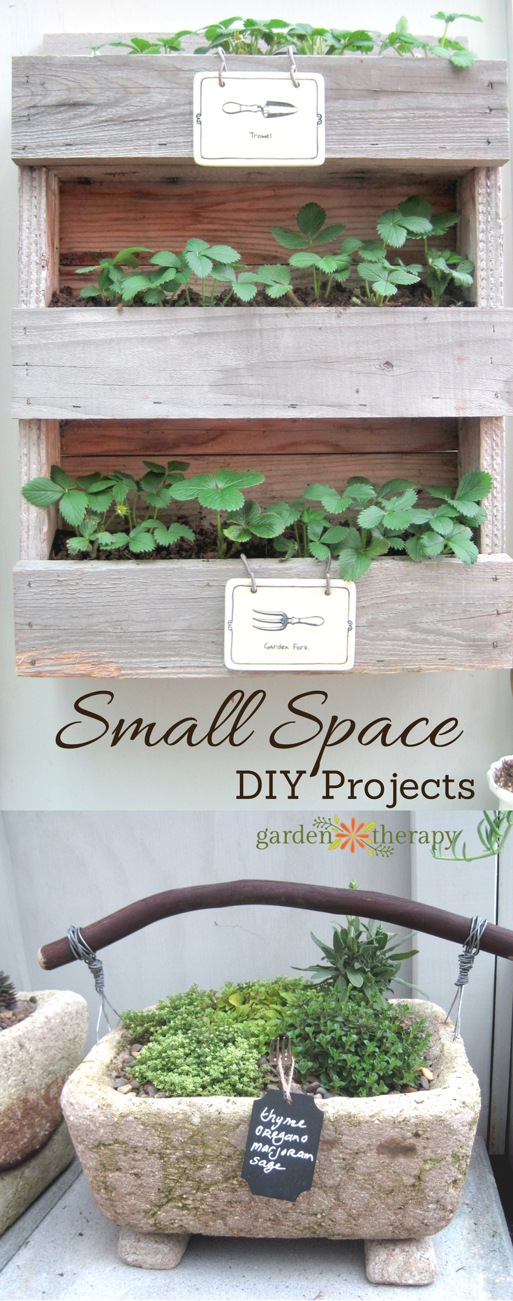 Small Space Garden DIY Project Ideas