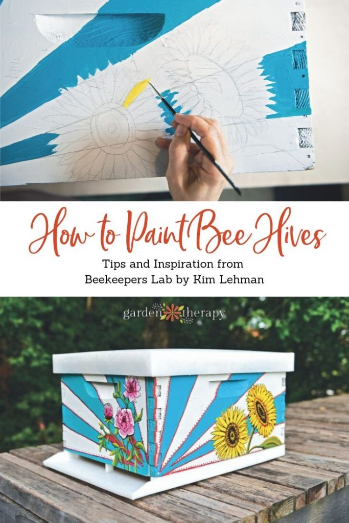 How to Paint Gorgeous Bee Hives