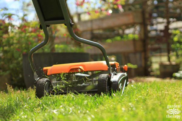 Lawn Care Unplugged - How to Use a Reel Mower