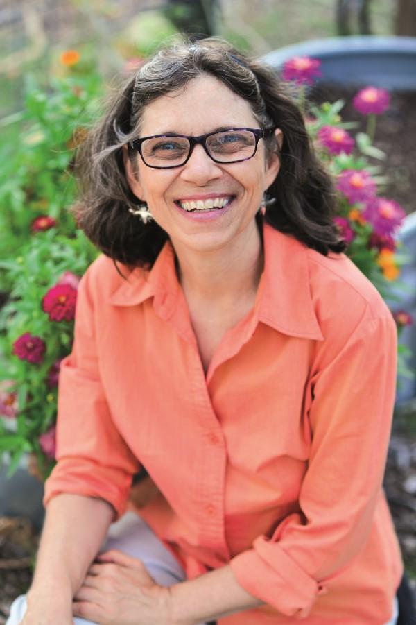 Kim Lehman, author of Beekeper's Lab