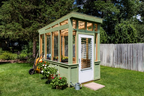 Build an Old Window Greenhouse - Garden Therapy®