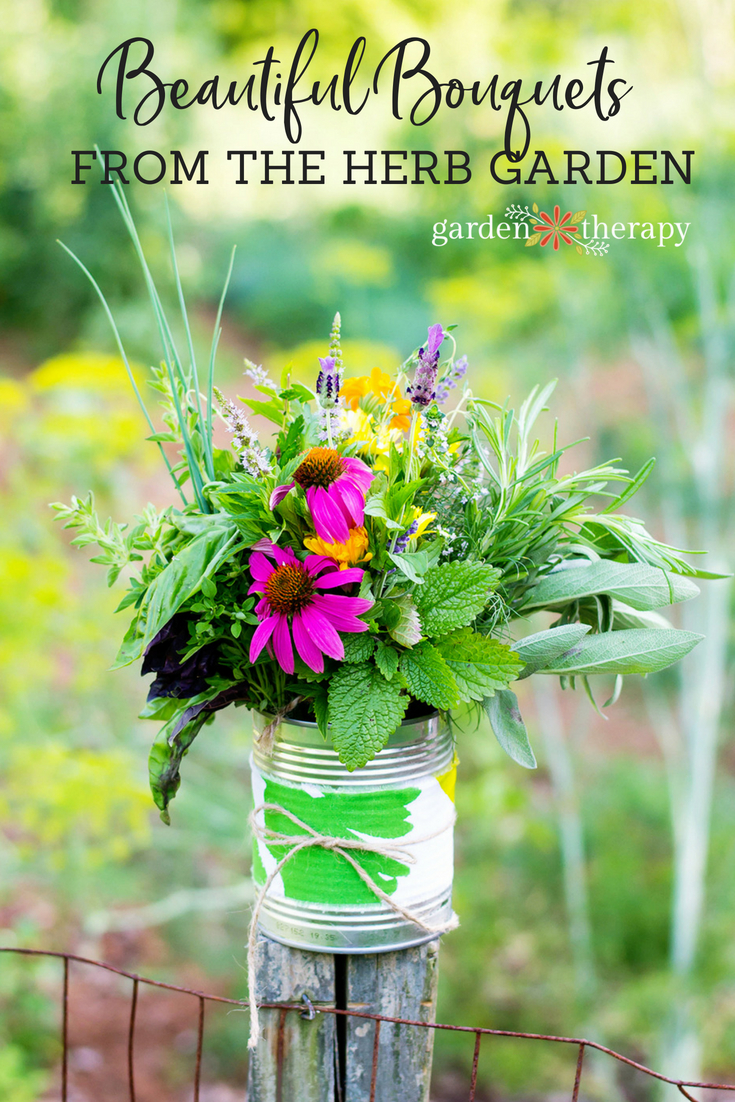 Beautiful Bouquets from the Herb Garden