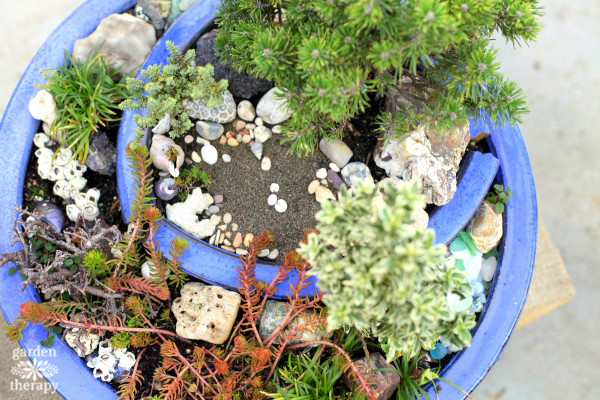 Magical Miniature Gardens (Broken Pot Garden)