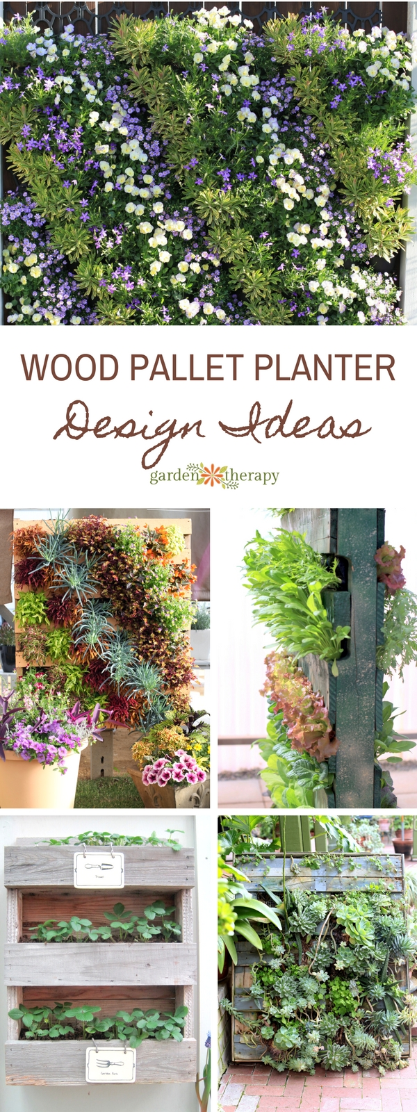 Pallet Planter Ideas That Stylishly Bring Upcycling To Your Garden Garden Therapy