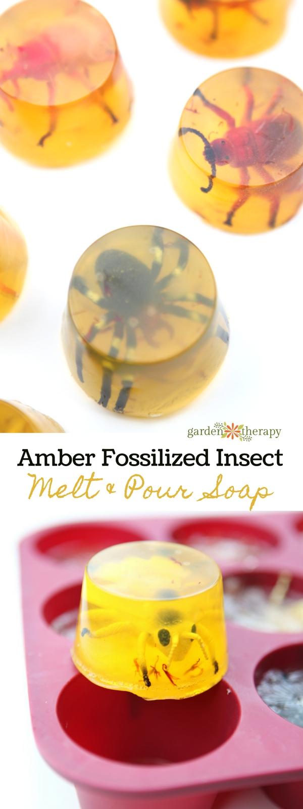 Amber bug soap