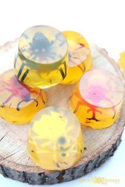 Amber Fossilized Insect Soap