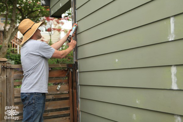 Garage Makeover Siding Prep Work