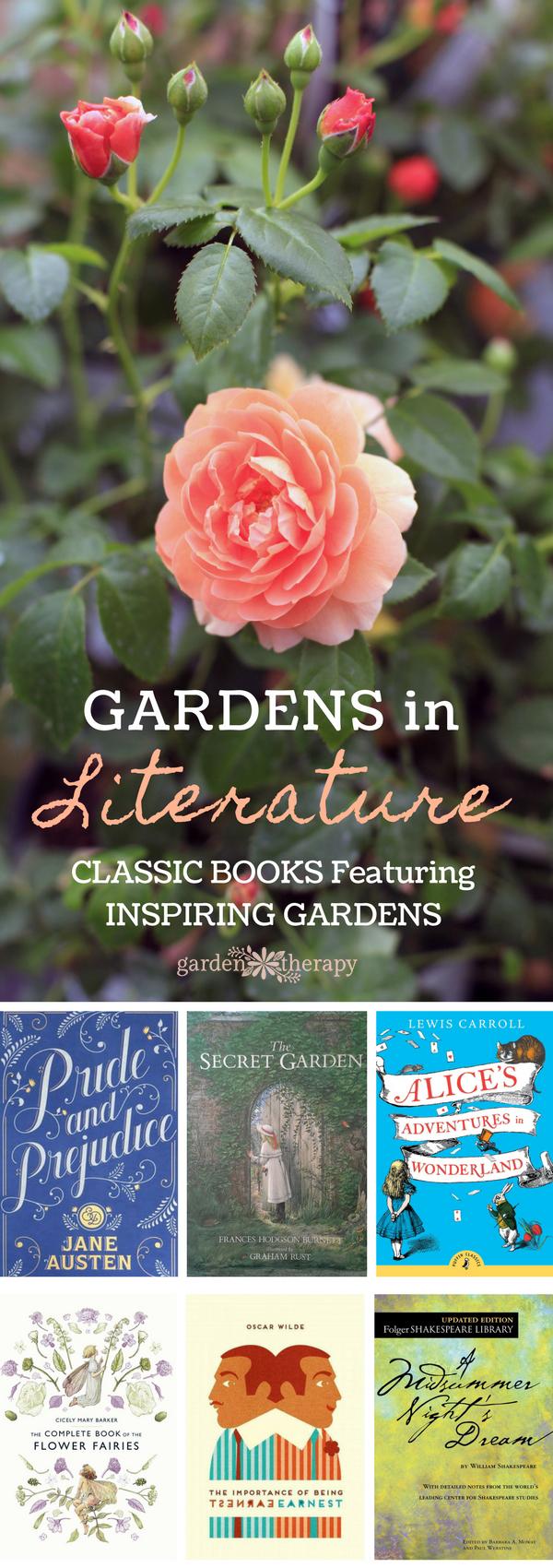 classic books featuring inspiring gardens
