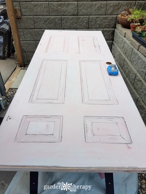 Prep - door ready to paint
