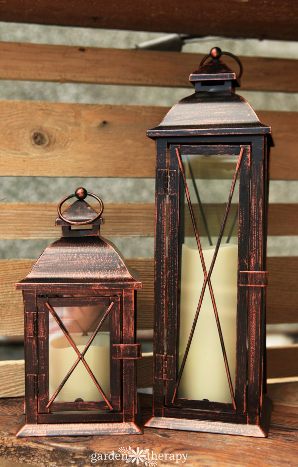 Set of Two Electric Outdoor Candles