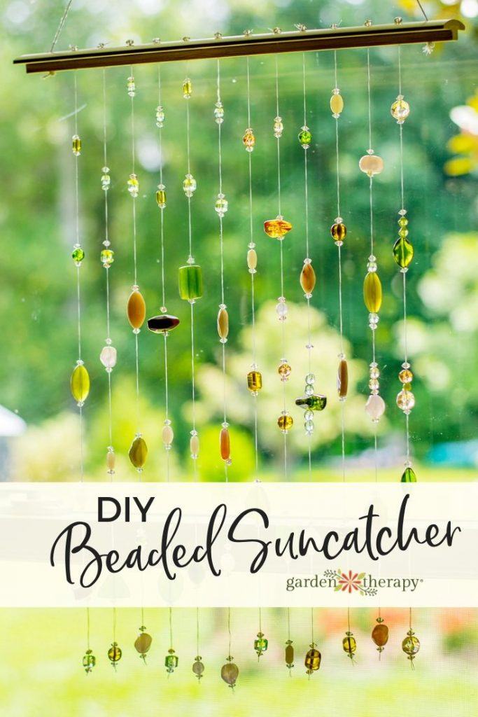 DIY Beaded Suncatcher Mobile