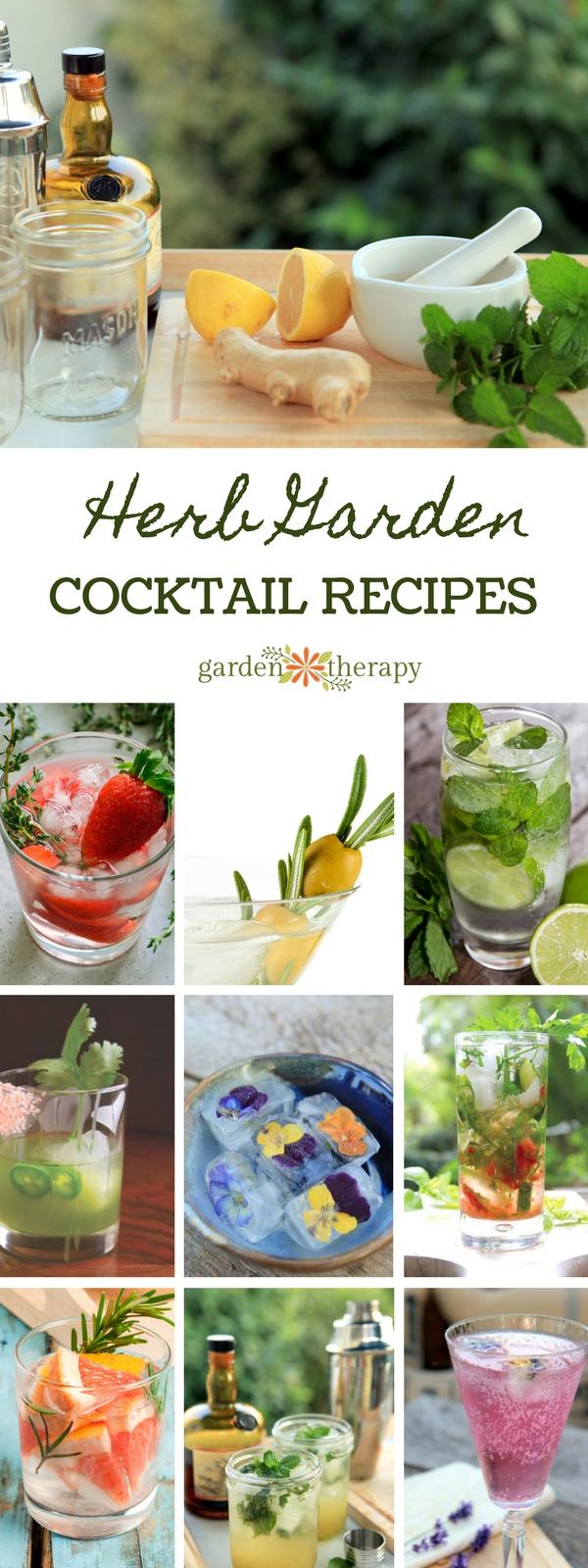 Herb Garden Cocktail Recipes