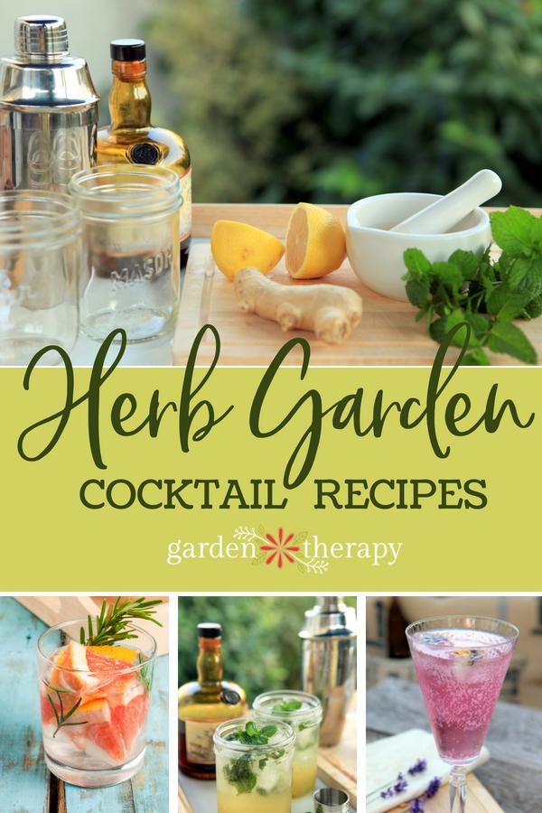Gartending: 17 Refreshing Summer Herb Garden Cocktails