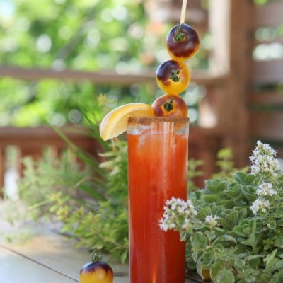 Gartending: Refreshing Summer Herb Garden Cocktails