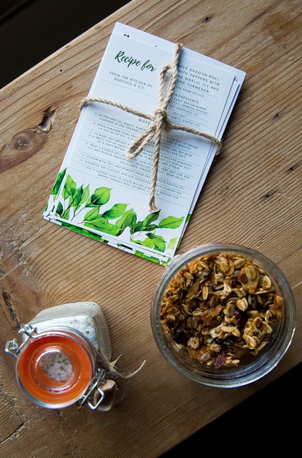 Burpee Recipe Cards and Homemade Treats