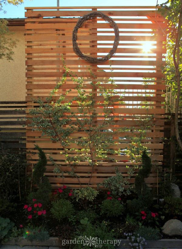 Cedar Privacy Screen Building Instructions
