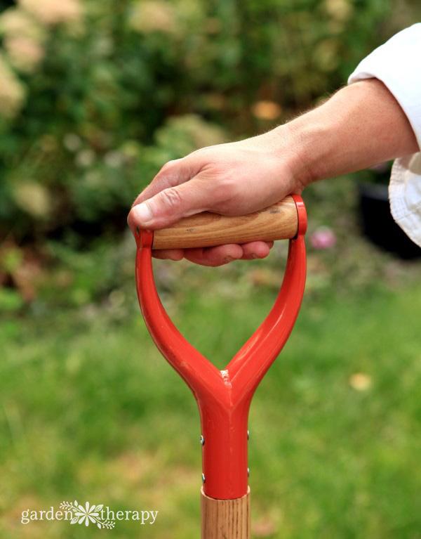 D-grip handle