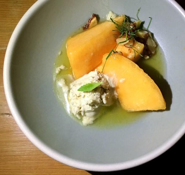 Stevia Melon Coconut Dessert