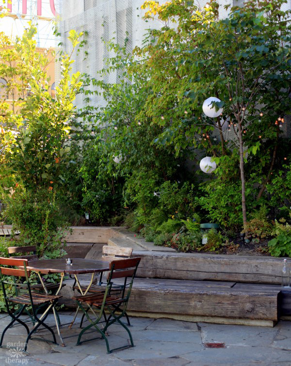 1 Hotel Brooklyn Bridge Rooftop Patio Garden