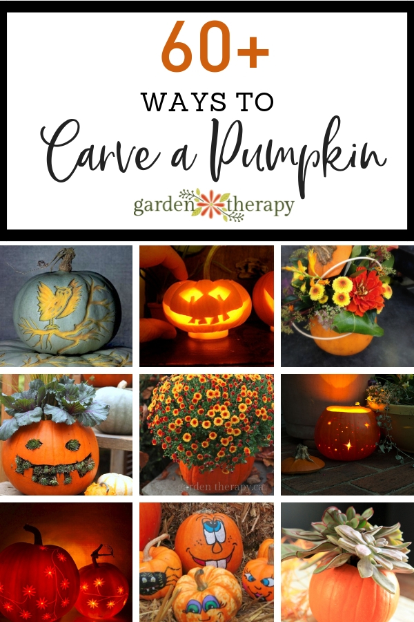60+ Ways to Carve a Pumpkin