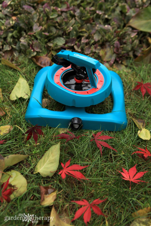 Fall Garden Watering Tools Care