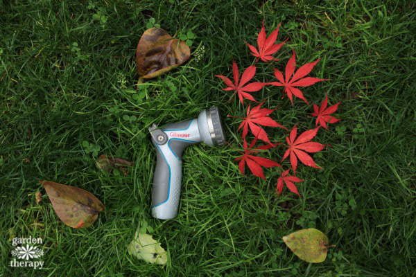 Fall Garden Watering Tools Care Guide