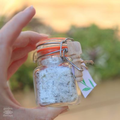 Fresh Herb Finishing Salt Recipe