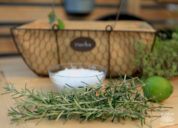 rosemary lime finishing salt recipe