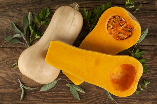 how to cut butternut squash for recipes