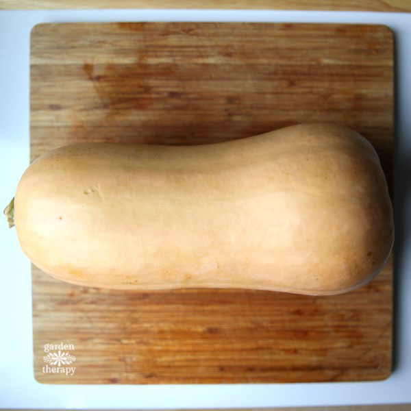 How to cut and prep butternut squash the easy way