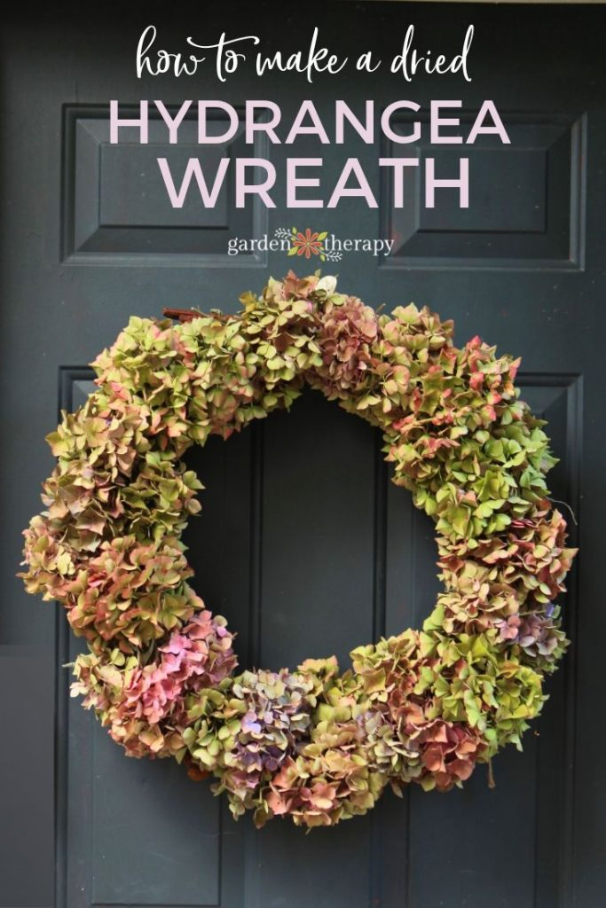 Easy to Make Hydrangea Wreath + Tips to Make it Last!