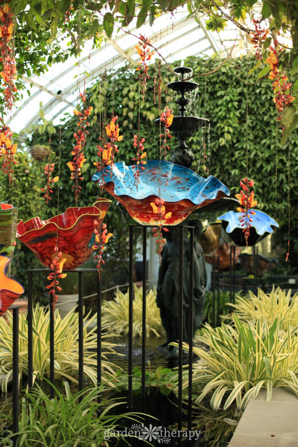 NYBG Tour: Chihuly Glass Gardens