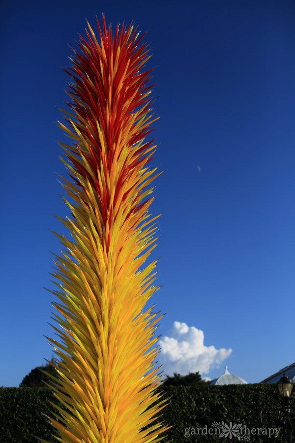 NYBG Tour: Gorgeous Chihuly Glass Sculpture