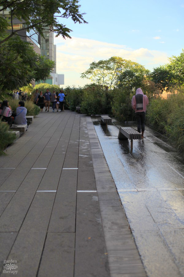 NYC High Line Garden Therapy