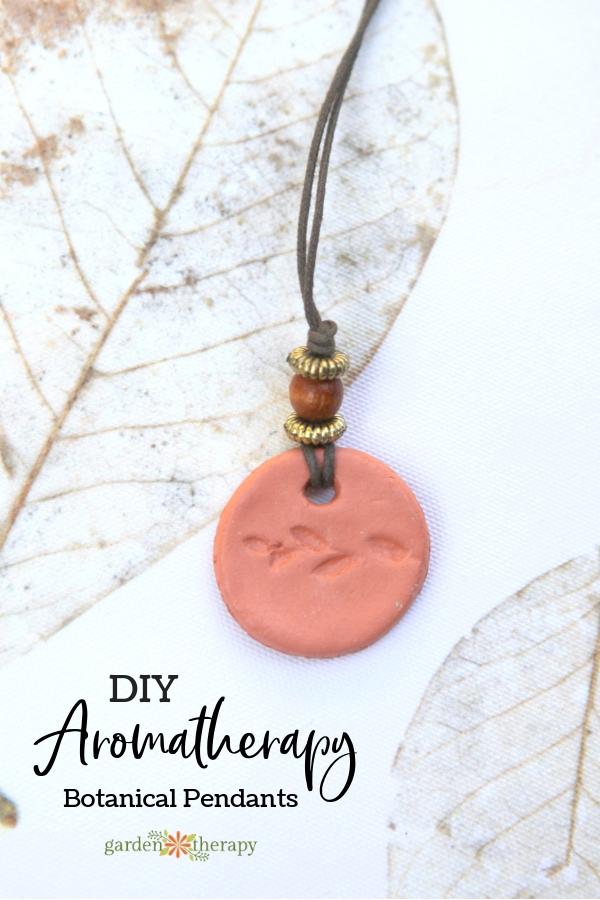 DIY Aromatherapy Pendants