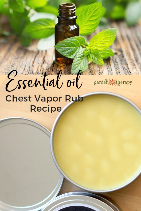 Essential Oil Chest Vapor Rub Recipe
