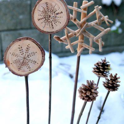 holiday planter ornaments tutorial