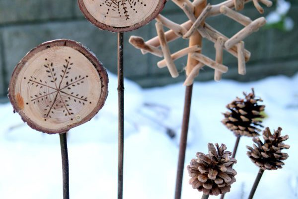 holiday planter ornaments tutorial