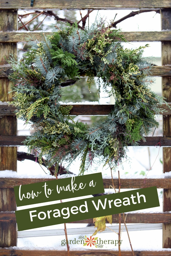 How to Make a Natural Foraged Wreath