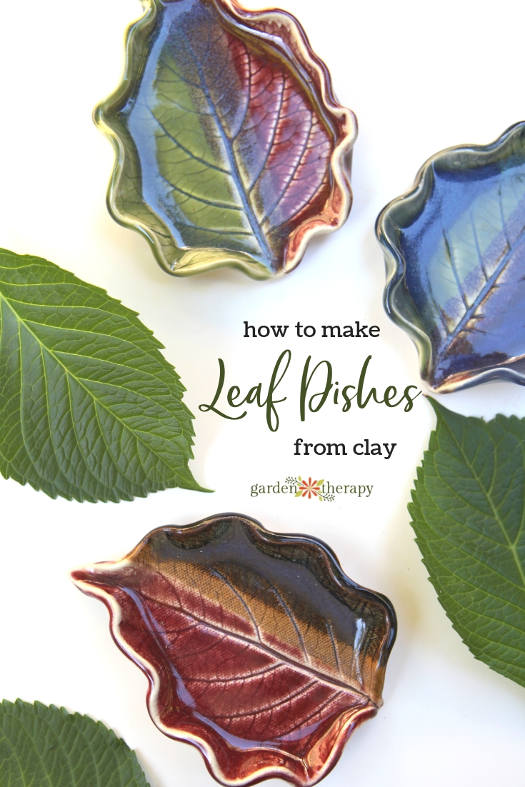 How to Make Leaf Dishes from Clay