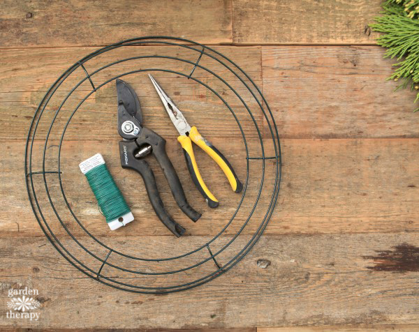 tools for wreath making