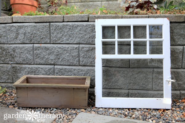 materials for making an easy window box planter