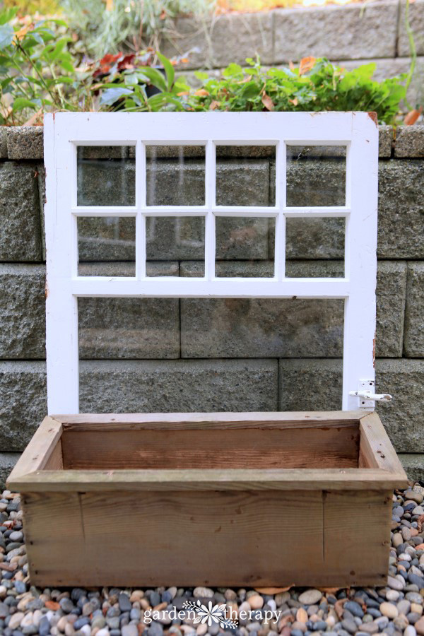 how to make a window box for winter