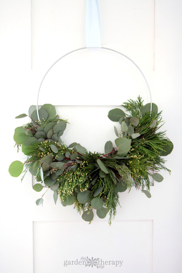 Fragrant wreath tutorial