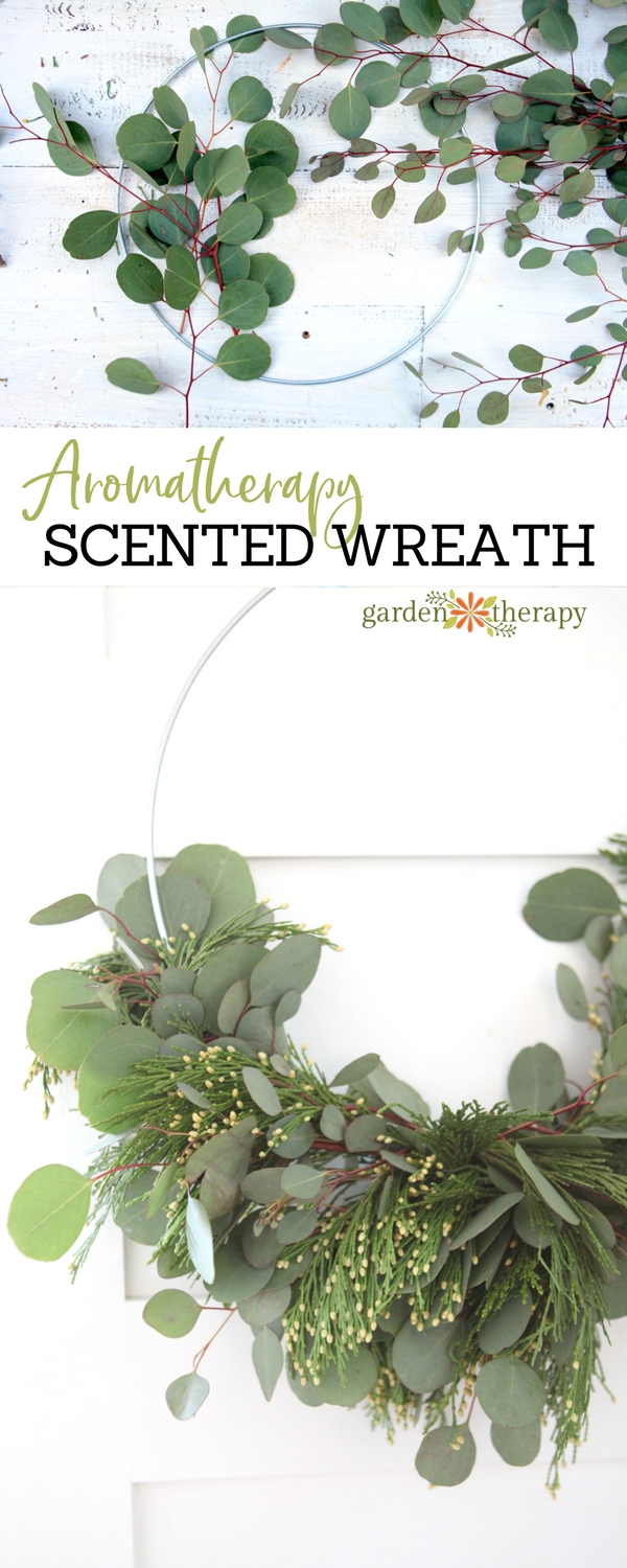 A fragrant wreath for any time of year