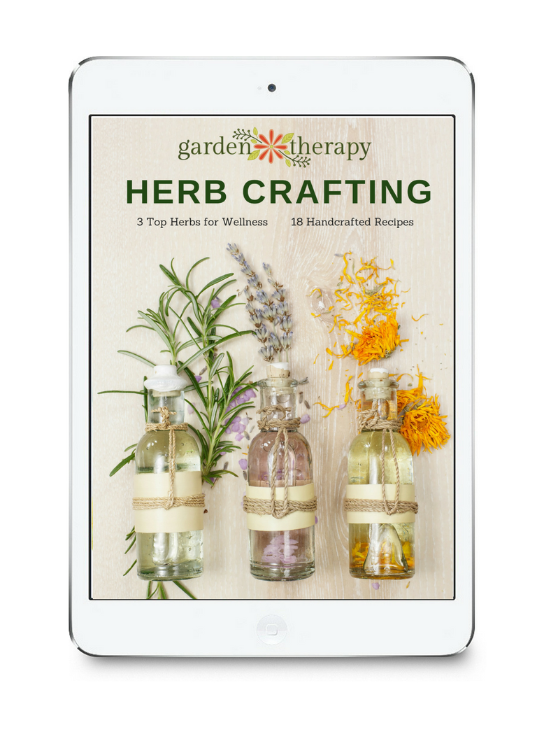herb crafting ebook: make 18 handcrafted recipes using these 3 healing herbs