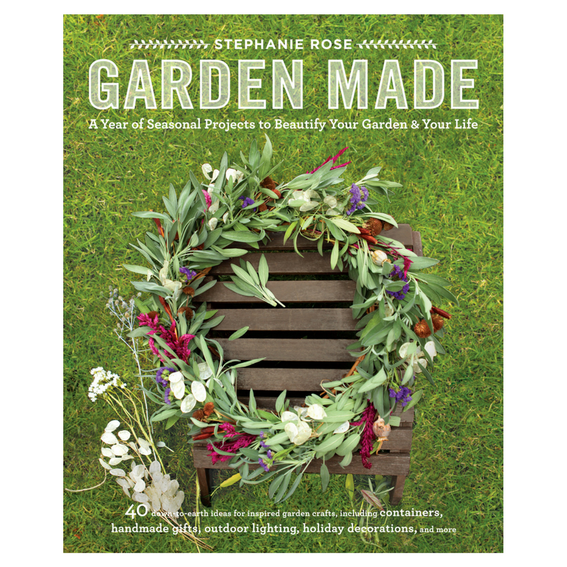 Garden made a year of seasonal projects to beautify your garden and garden made book workwithnaturefo
