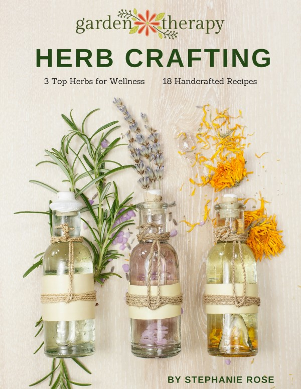 Free Herb Crafting eBook by Stephanie Rose on iPad