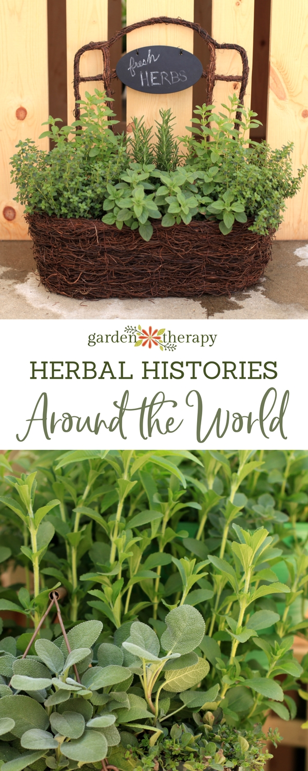Herbal History from Around the World